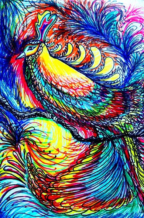 Pájaro-flor